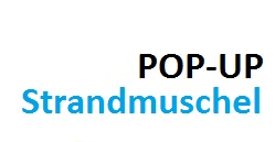 pop up strandmuschel